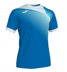 CAMISETA HISPA II ROYAL-BLANCO M/C
