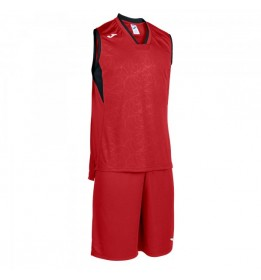 SET BASKET CAMPUS ROJO-NEGRO S/M