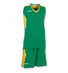 SET BASKET SPACE VERDE-ORO S/M W.
