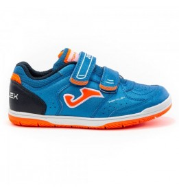 TOP FLEX JR 2004 ROYAL-NARANJA VELCRO