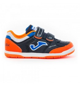 TOP FLEX JR 2053 MARINO-NARANJA VELCRO INDOOR