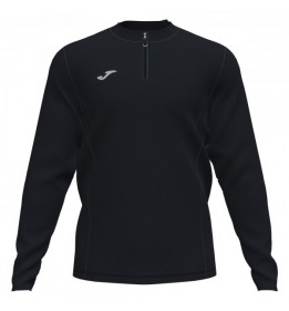 SUDADERA SIN CAPUCHA RUNNING NIGHT NEGRO