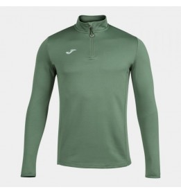 SUDADERA SIN CAPUCHA RUNNING NIGHT CAQUI