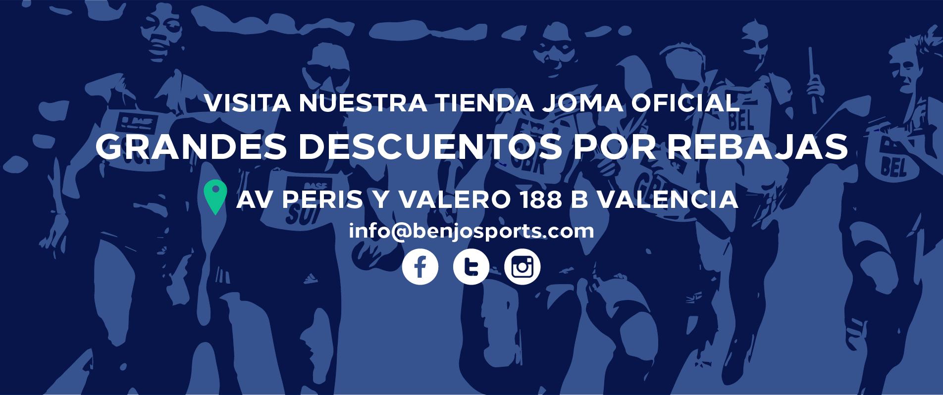 Tienda Oficial Joma en Valencia